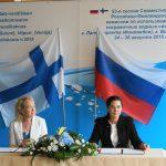 Яана Хусу-Каллио и Марина Селиверстова.